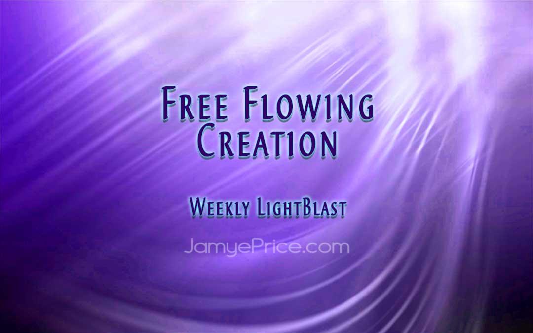 Free Flowing Creation LightBlast by Jamye Price