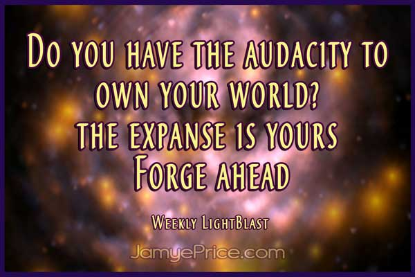 Own Your World Lightworker by Jamye Price