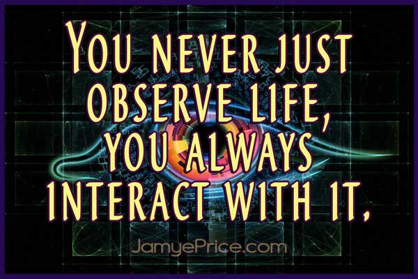 Observe adn Interact with Life by Jamye Price