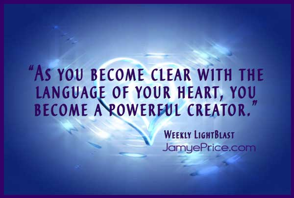 Language of the Heart by Jamye Price