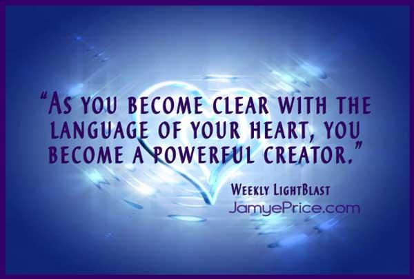 Language of the Heart by Jamye Price