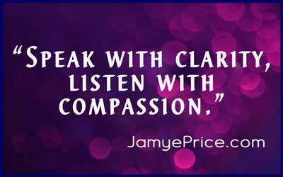 Speak with Clarity by Jamye Price