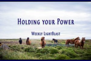 Holding Your Power by Jamye Price