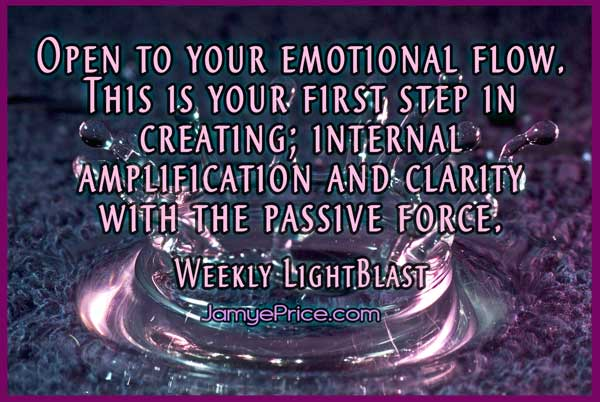 Open to Your Emotional Flow by Jamye Price