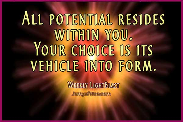 All Potential is Within You Weekly LightBlast Areon Lyran Channeling