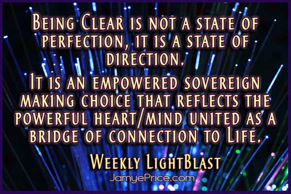 Clarity is a Clear Direction by Jamye Price