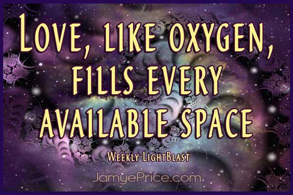 Love is Like Oxygen by Jamye Price