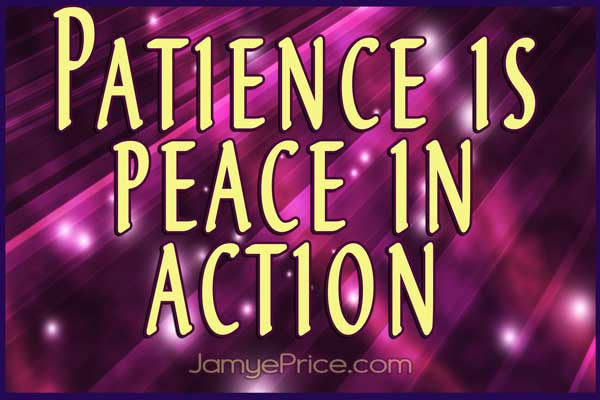 Patience by Jamye Price