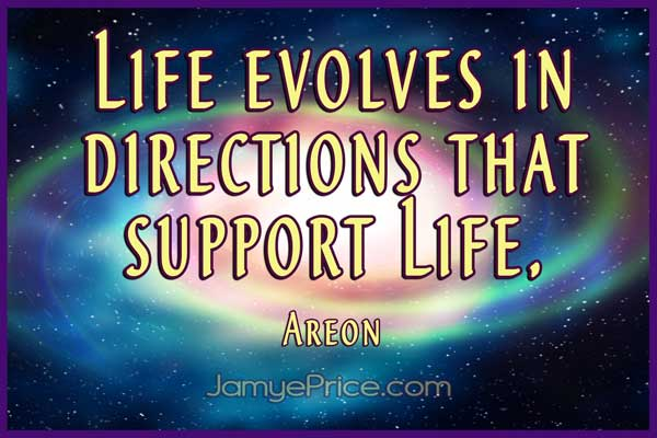 Life Evolves Areon Lyra Channeling by Jamye Price