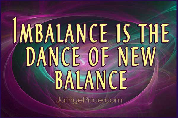 Imbalance is the Dance of New Balance by Jamye Price