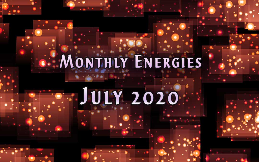July Monthly Energies by Jamye Price